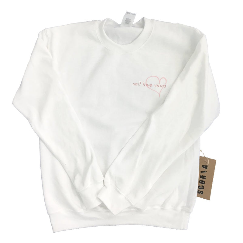 Self Love Vibes Sweatshirt - Scoria