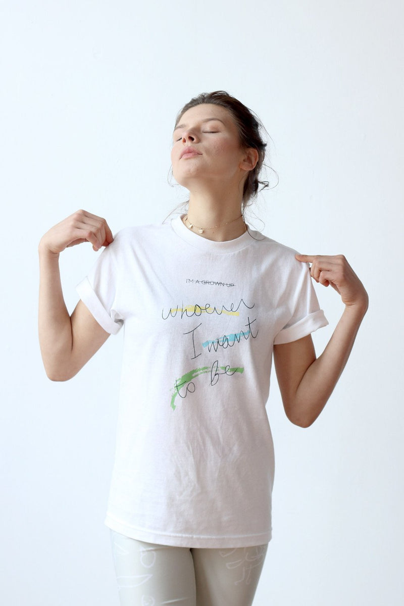Who I Want To Be T-Shirt - Scoria