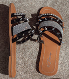 The Black Jacey Sandal - Face 2 Soul Beauty Boutique