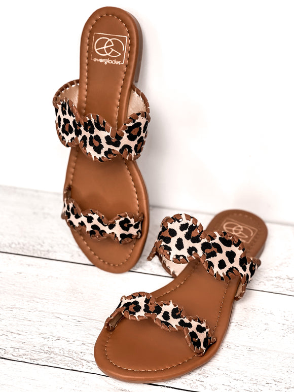 The Mimi Leopard Sandal - Face 2 Soul Beauty Boutique