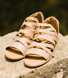 The Whitney Warm Taupe Sandal - Face 2 Soul Beauty Boutique