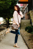 Playful Personality Dusty Pink Sweater - Face 2 Soul Beauty Boutique