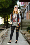 Gerdy The Sloth Grey Longsleeve - Face 2 Soul Beauty Boutique