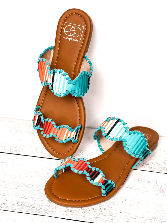 The Aztec Mimi Sandals - Face 2 Soul Beauty Boutique