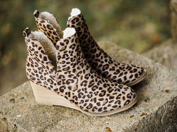 The Erika Leopard Booties - Face 2 Soul Beauty Boutique