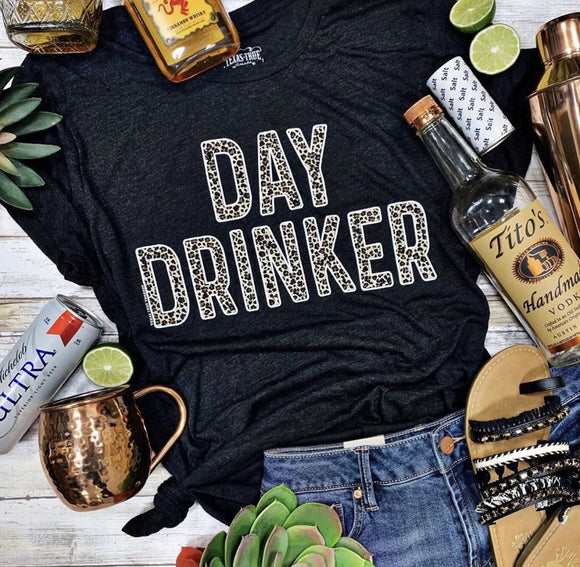 Day Drinker Tee - Face 2 Soul Beauty Boutique