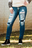 The Hilary High Rise Kancan Skinnies - Face 2 Soul Beauty Boutique