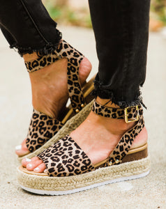 Wild Child Platform Sandals - Face 2 Soul Beauty Boutique