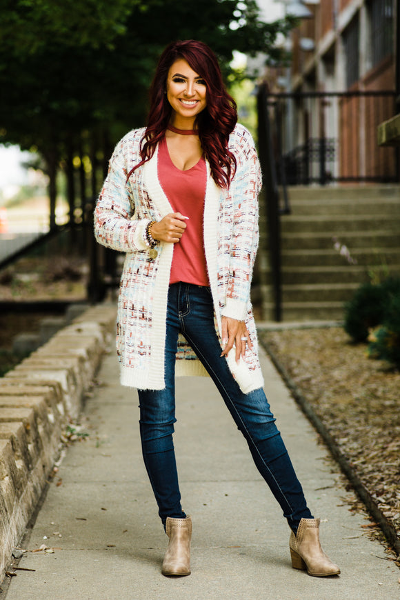 The Heart Knows Best Sweater Cardigan - Face 2 Soul Beauty Boutique