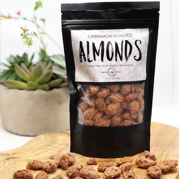 Cinnamon Kettle Roasted Almonds - Face 2 Soul Beauty Boutique