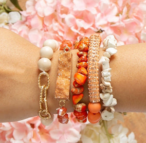 Sunrise Shining Bracelet Set - Face 2 Soul Beauty Boutique