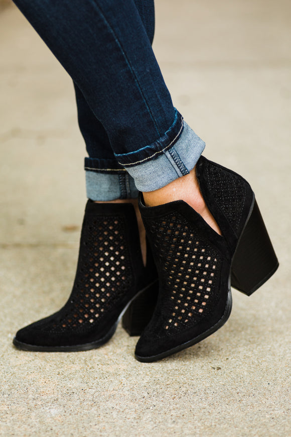 The Eve Black Booties