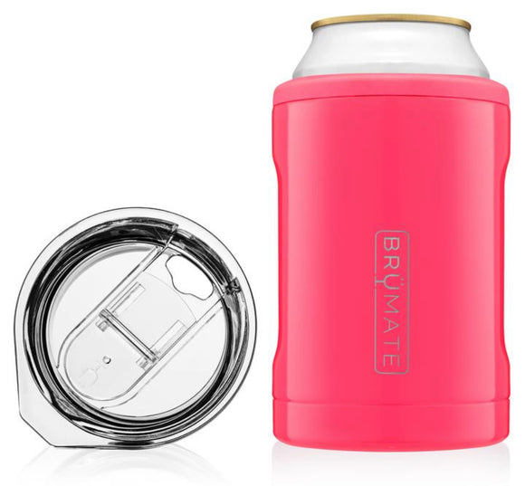 Neon Pink 2-in-1 Hopsulator 12OZ. Cans/Tumbler - Face 2 Soul Beauty Boutique