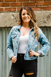 The Kristie Kancan Jean Jacket - Face 2 Soul Beauty Boutique