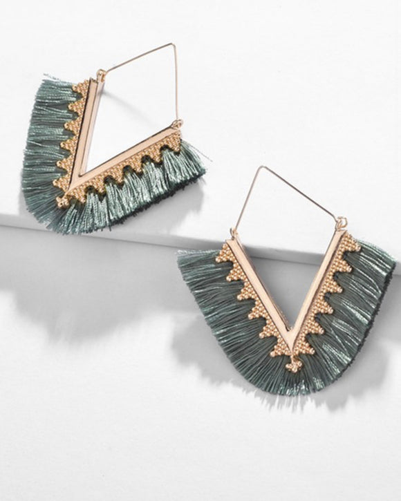 The Moss Erica Earrings