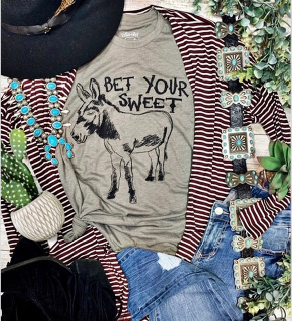 Bet Your Sweet T-Shirt - Face 2 Soul Beauty Boutique