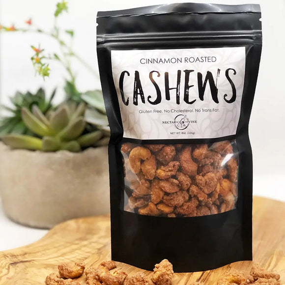 Cinnamon Roasted Cashews - Face 2 Soul Beauty Boutique