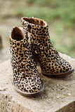 Liva Leopard Blowfish Booties - Face 2 Soul Beauty Boutique