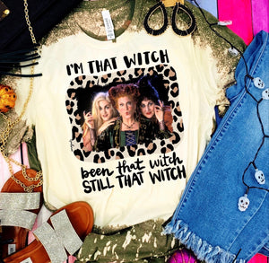 I'm That Witch Tee - Face 2 Soul Beauty Boutique