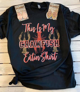 This Is My Crawfish Eatin' Shirt - Face 2 Soul Beauty Boutique