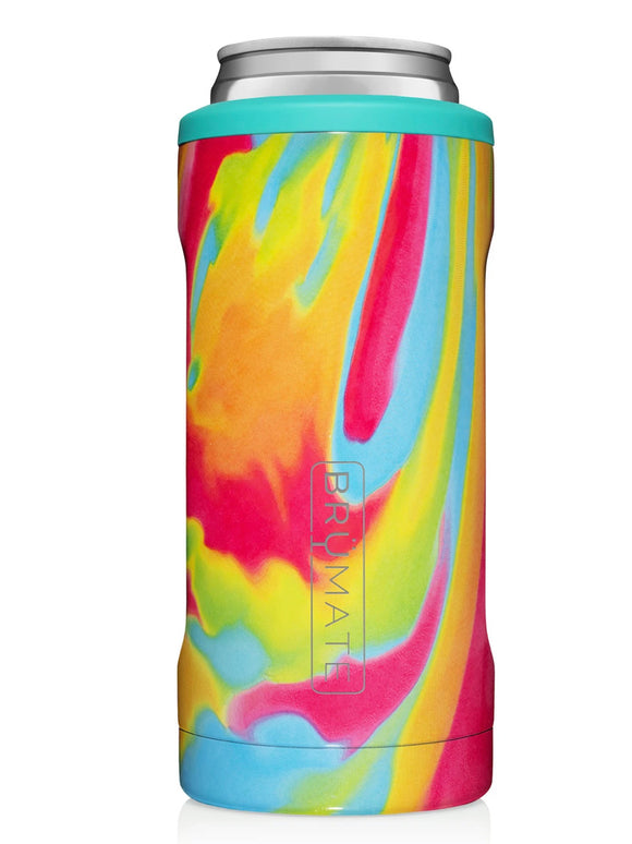 Tie Dye Hopsulator Slim Can Cooler - Face 2 Soul Beauty Boutique