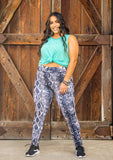 Vintage Snake Leggings - Face 2 Soul Beauty Boutique