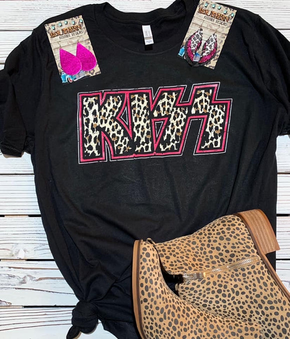 KISS Tee - Face 2 Soul Beauty Boutique