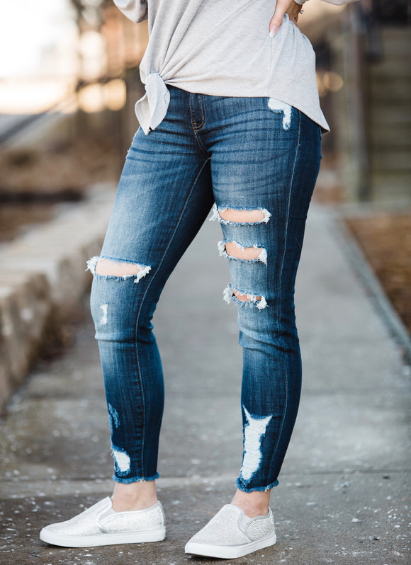The Krystal Kancan Jeans - Face 2 Soul Beauty Boutique