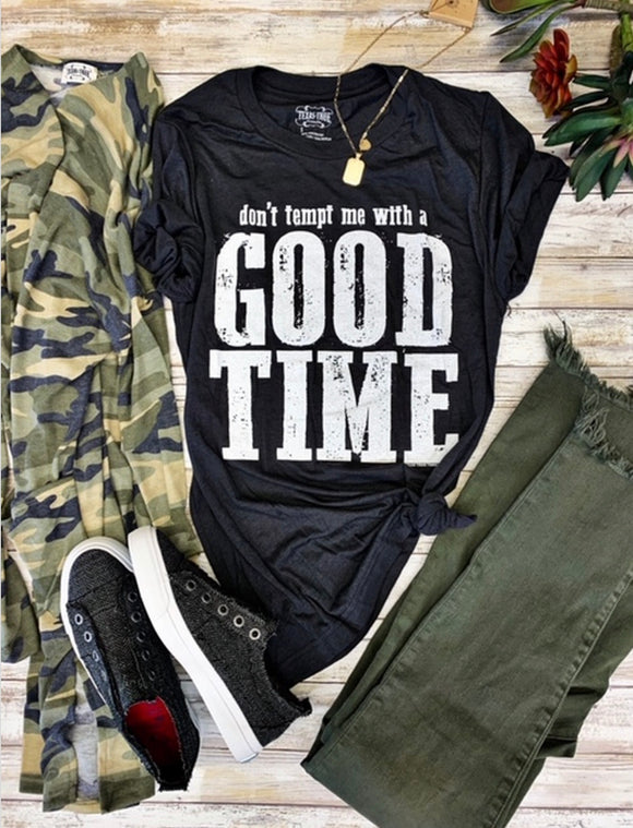 Don't Tempt Me with a Good Time - Face 2 Soul Beauty Boutique