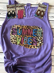 Summer Vibes Tank - Face 2 Soul Beauty Boutique