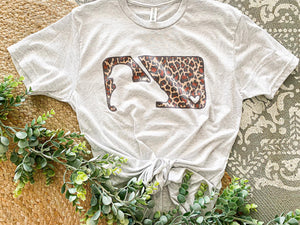 Leopard MLB Tee - Face 2 Soul Beauty Boutique