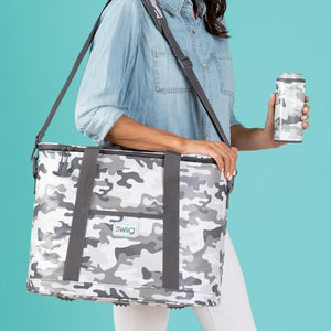Camo Family Cooler Tote - Face 2 Soul Beauty Boutique