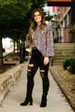 Black Distressed Skinnies - Face 2 Soul Beauty Boutique