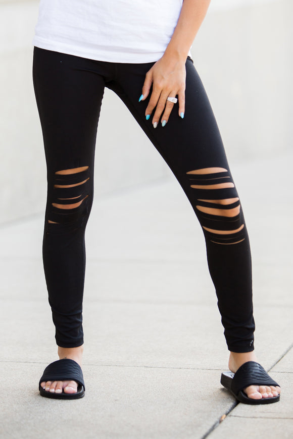 Black Boss Babe Leggings - Face 2 Soul Beauty Boutique