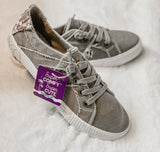 The Tinley Wolf Gray Blowfish Sneakers - Face 2 Soul Beauty Boutique