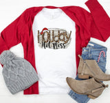 Holiday Hot Mess Tee - Face 2 Soul Beauty Boutique