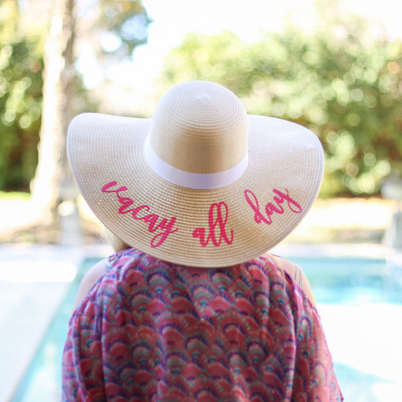 Vacay All Day Hat - Face 2 Soul Beauty Boutique