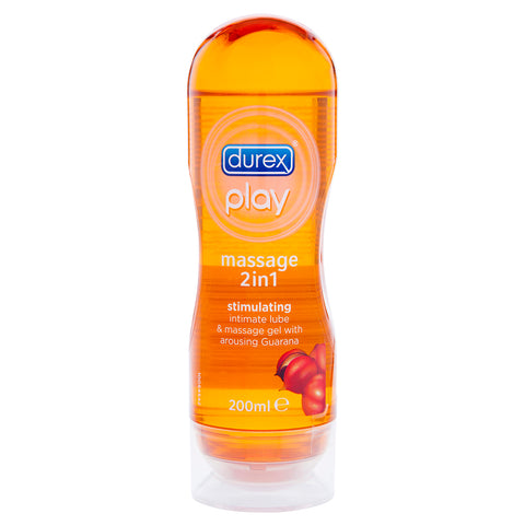 Durex Play Massage Stimulating 2in1 (Guarana) 200ml