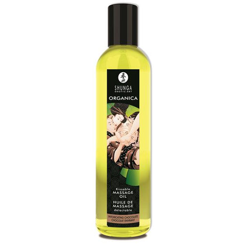 Shunga Massage Oil Organica (Intoxicating Chocolate)