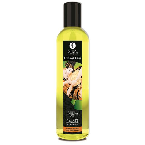 Shunga Massage Oil Organica (Almond Sweetness)