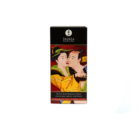 Shunga Oral Pleasure Lipgloss - Strawberry Wine