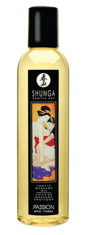 Shunga Massage Oil Passion (Apple)