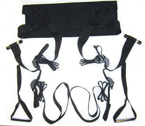 Sportsheets Door Jam Sex Sling Black