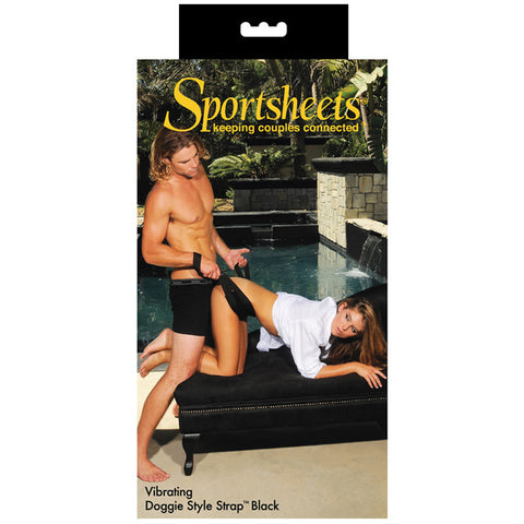 Sportsheets Positioning Vibrating Doggie Style Strap