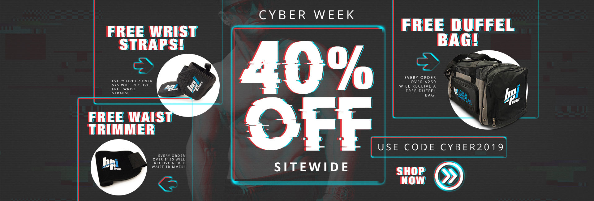 Cyber Week! 40% Off Sitewide + Freebies!