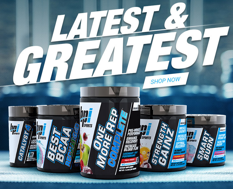 The Latest & Greatest New Products from BPI Sports