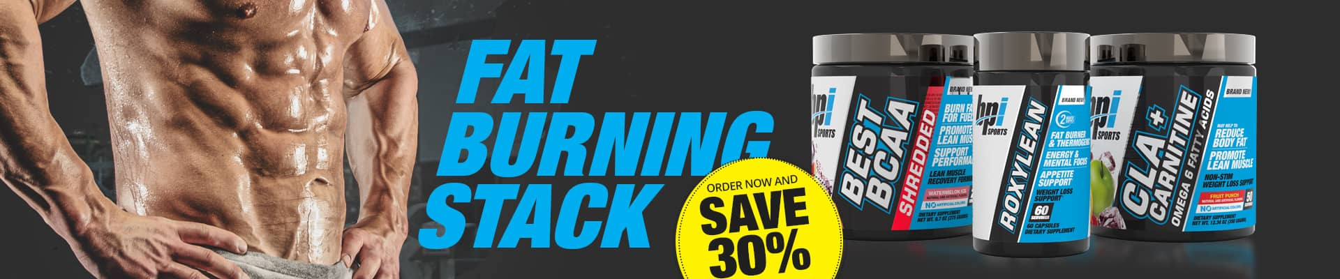 Fat Burning Stack Promo