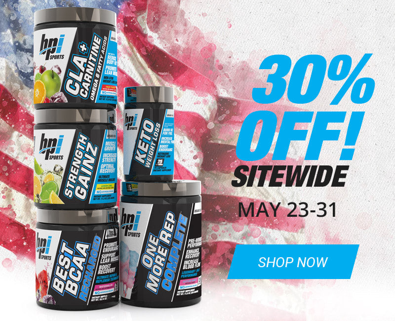 30% Sitewide Memorial Day Sale