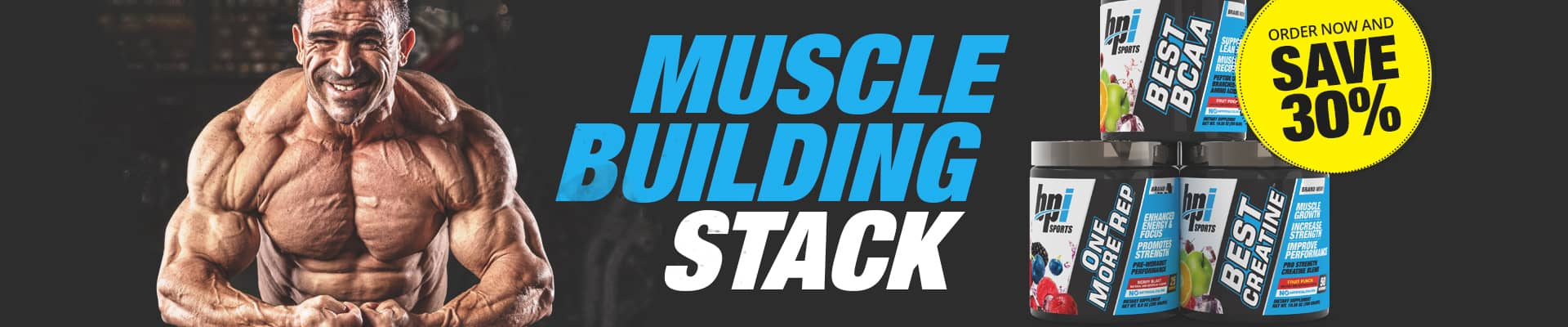 Muscle Building Stack Promo