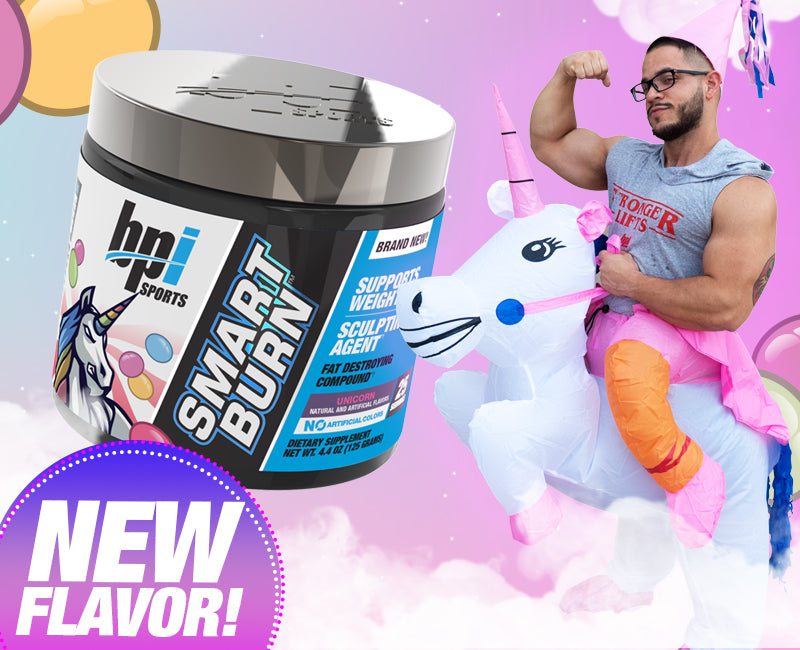 Smart Burn Unicorn Flavor!